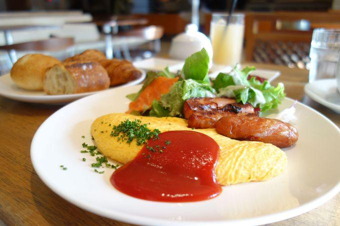 朝食もお好みに合わせてカスタマイズ!!どれにする?どこで食べる?