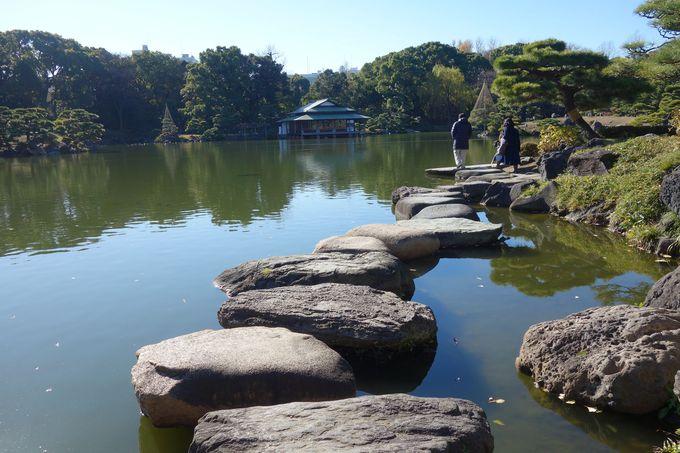 清澄庭園やcafe巡り♪朝はホテル周辺をのんびりお散歩