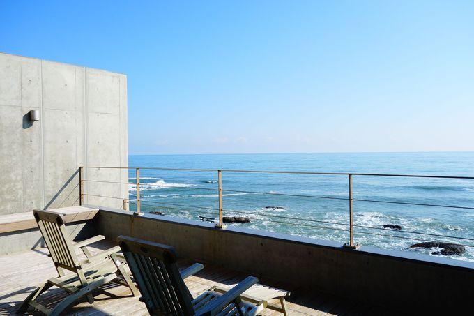 海の広さを感じる癒しの宿「里海邸 金波楼本邸」で海気浴