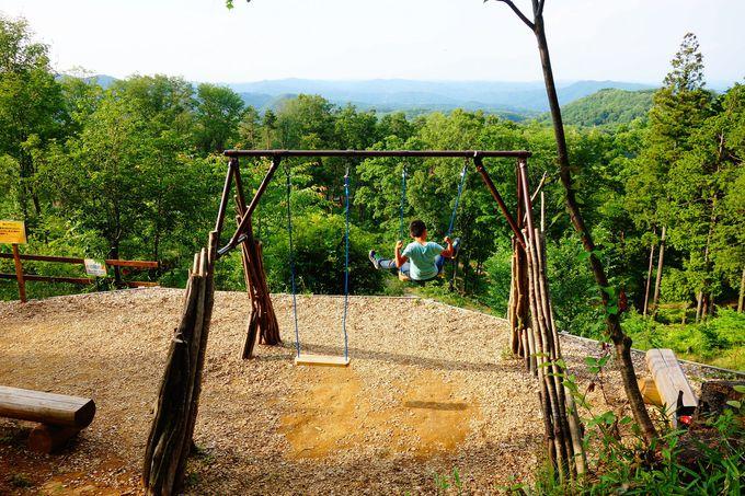楽しみ方その1:栃木県茂木の森「ハローウッズ」でおもいっきり冒険する