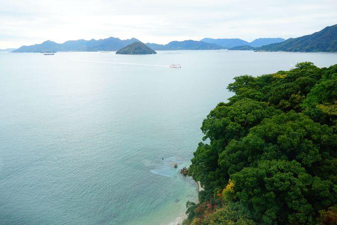 空と海、刻々と移りゆく3タイプの景観