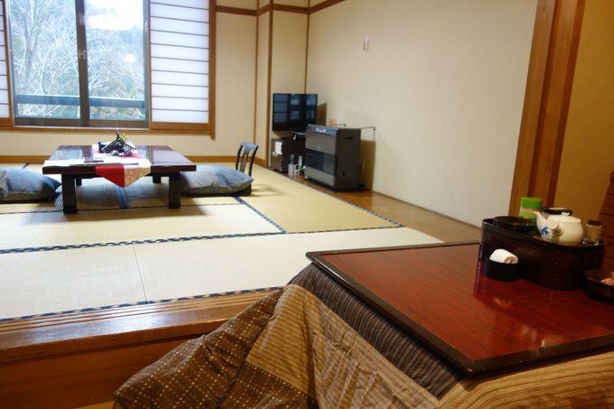 全室南向き!里山の豊かな四季を眺める客室