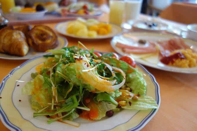 美味しい朝食を食べたら、朝一番でスキー場へ!!