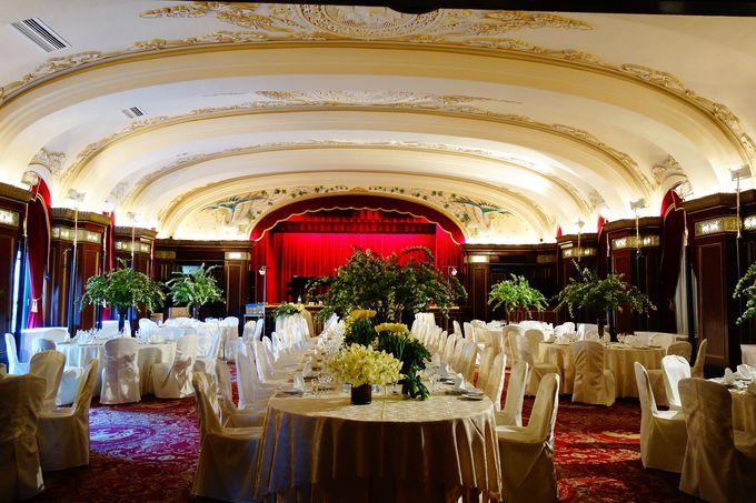 欧州の香りと深みが魅力の「ホテルニューグランド」