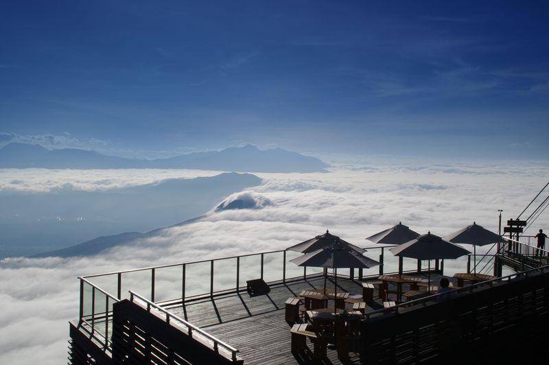 長野の雲海スポット「SORA terrace(ソラテラス)」は雲海発生率67%!!