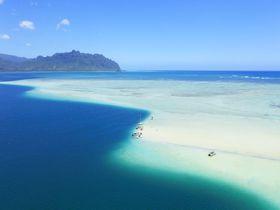 「天国の海」はハワイに来たら必訪!!カネオヘ沖の360度絶景サンドバー
