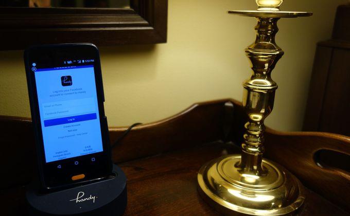 これは便利!全室無料レンタルスマートフォン完備