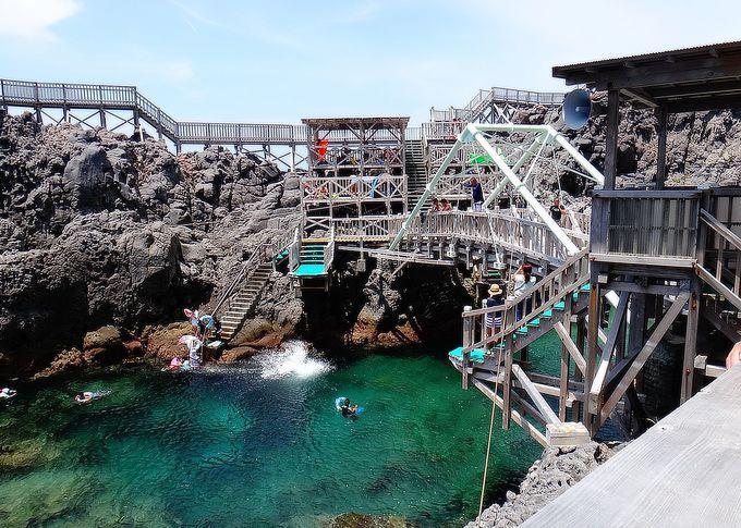 「赤崎遊歩道」は最高の遊び場