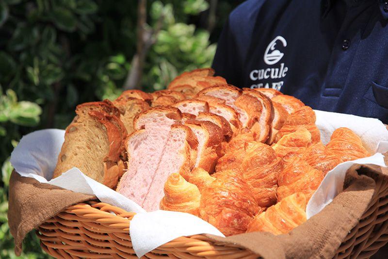 石垣島生まれの美味しい食材が揃う朝食