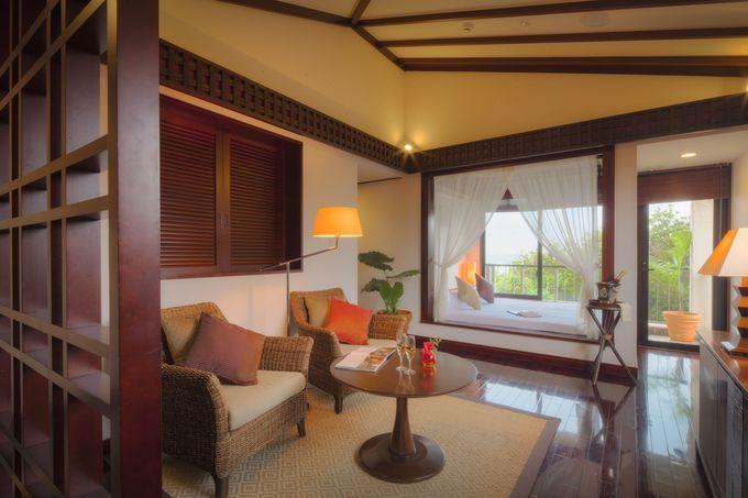 リゾート滞在を豊かにする客室