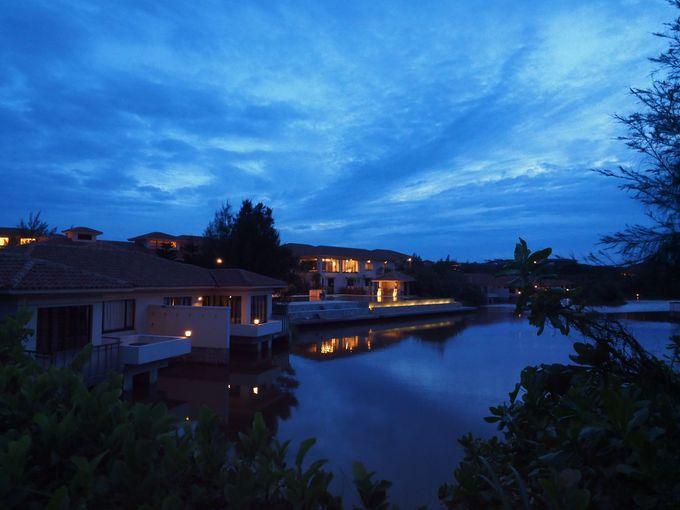 「ホテルアラマンダ小浜島」のロマンティックな夜の過ごし方
