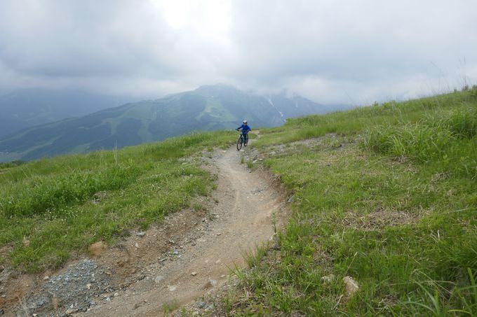 アクティブ派に!!でっかく遊ぼう「岩岳MTB PARK」