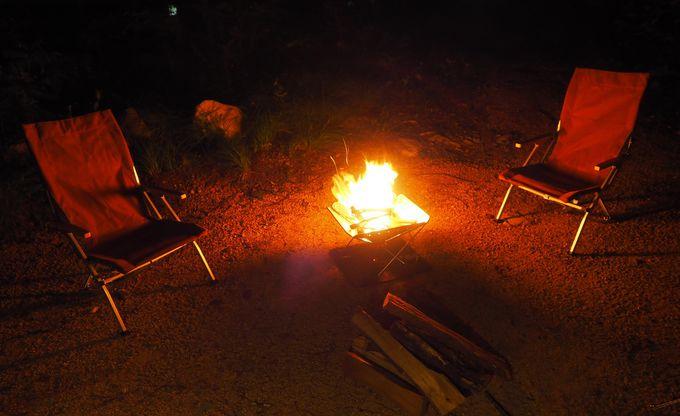 野遊びエリアで手ぶらでキャンプ