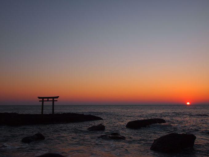 大洗海岸でみる日の出が美しい理由