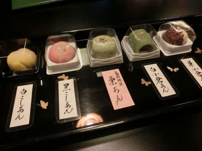観光で疲れたら、美味しい和菓子をいただきましょう!コーヒーとの組合せもGoodです!!