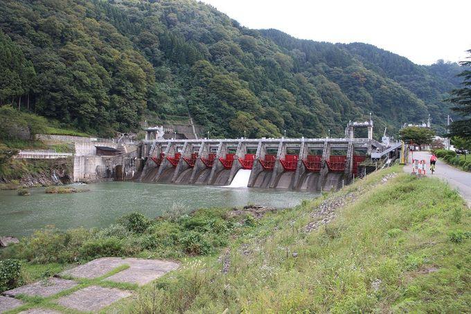庄川の水と、豊かな自然