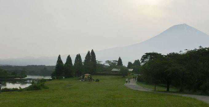アウトドア派はキャンプで富士山を!