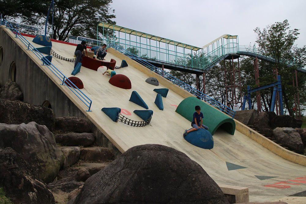 遊具もキャンプも!「自遊の森 桜ヶ池公園」