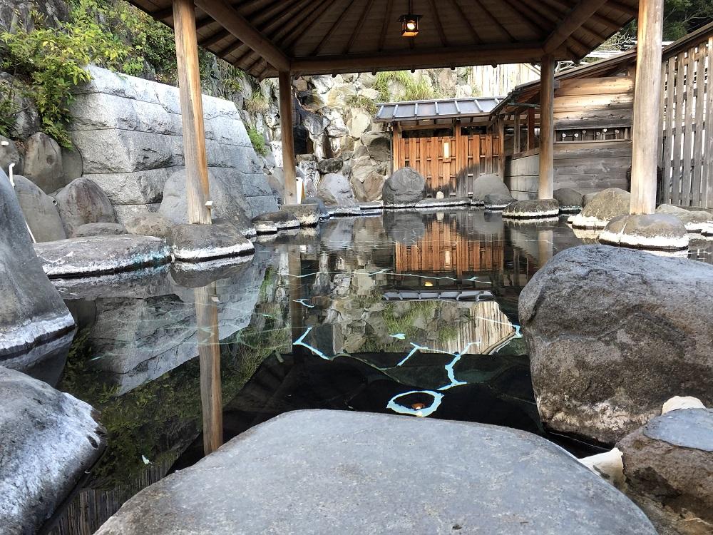 西伊豆「桜田温泉山芳園」20畳の貸切風呂&療養飲泉も!