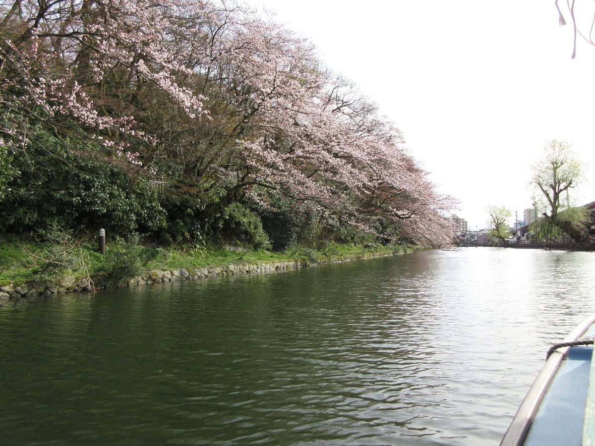 水濠が魅力的な「高岡城跡」とは