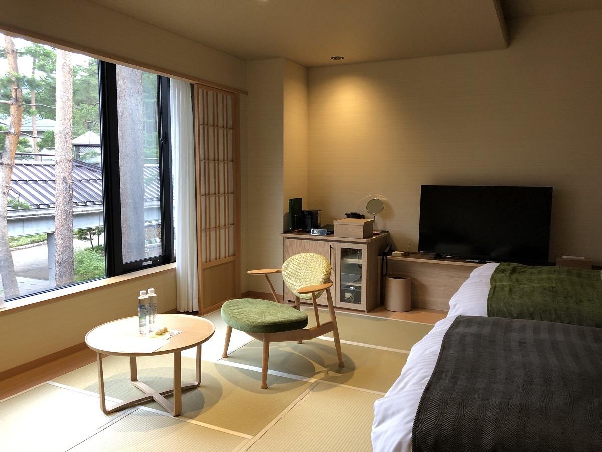 広い客室でも、リゾート感を満喫!