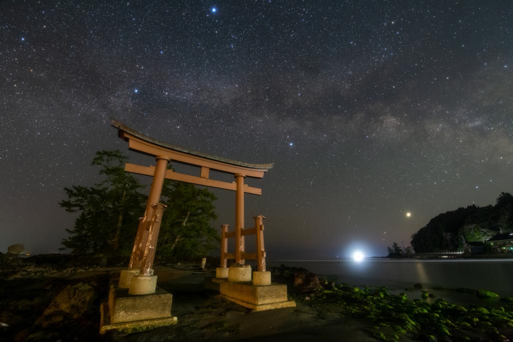 恋路海岸と恋路駅