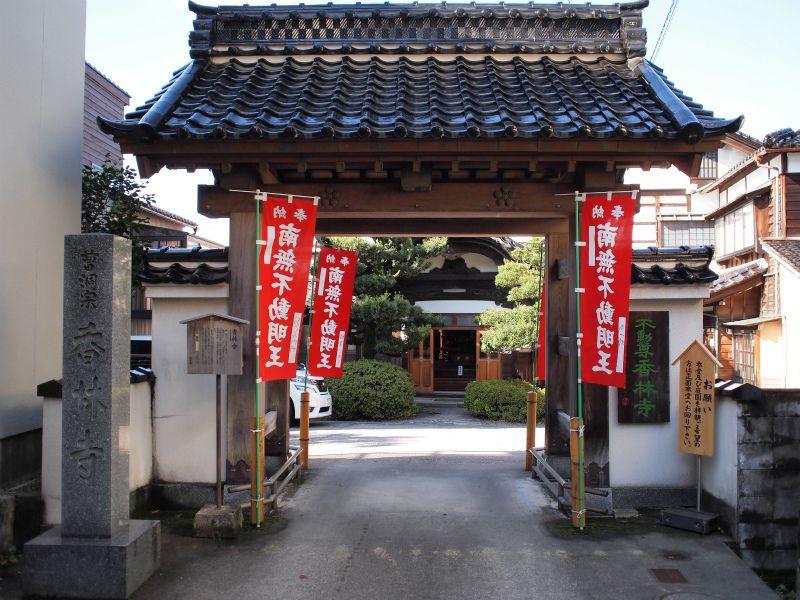 前田藩家老により建立された歴史あるお寺