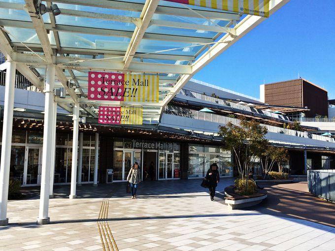 湘南エリア最大のショッピングモール