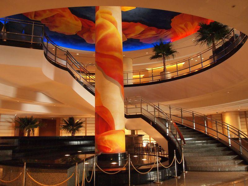 周辺ホテルの中でも立地はピカイチ