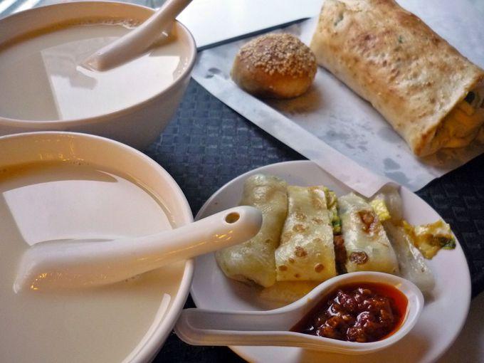 阜杭豆漿の朝ごはん