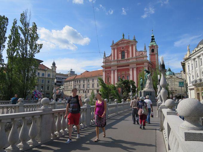 リュブリャナの観光スポット