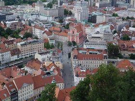 98%行かない国!?スロベニアの首都リュブリャナの街歩き