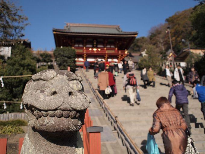 鎌倉の代名詞「鶴岡八幡宮」