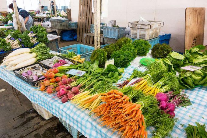 鎌倉野菜の売り場「レンバイ」へ