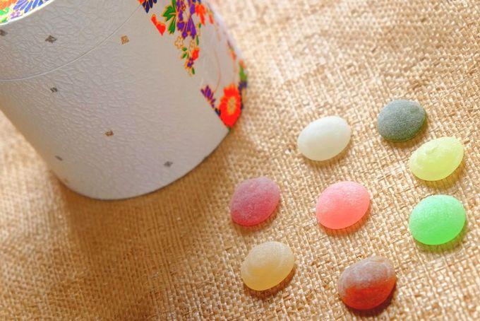 やさしい彩りと味わいに癒される大人の甘味 〜 関口屋菓子舗 焼酎糖