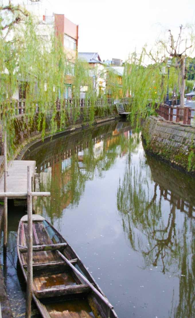 佐原の中心を流れる小野川