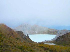 白根山の湯釜と草津温泉散策——群馬県草津町