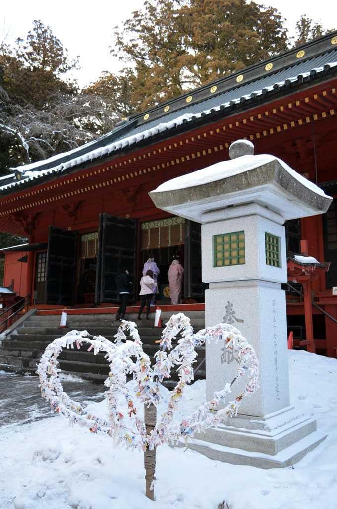パワースポットと言われる二荒山神社