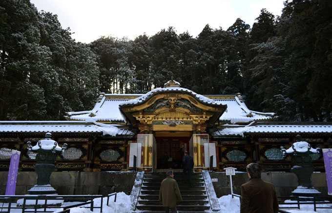 徳川三代将軍家光公の廟所「大猷院」
