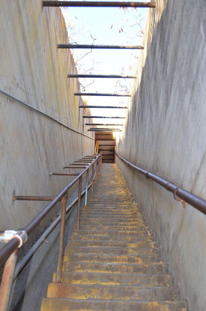 絶景の前に99段の階段現る