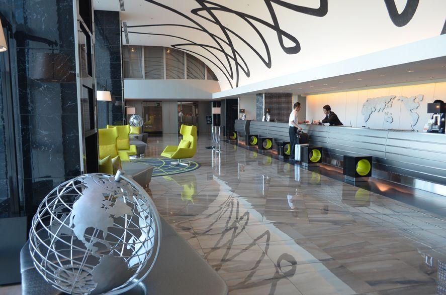 空港併設の利便性の高いホテル