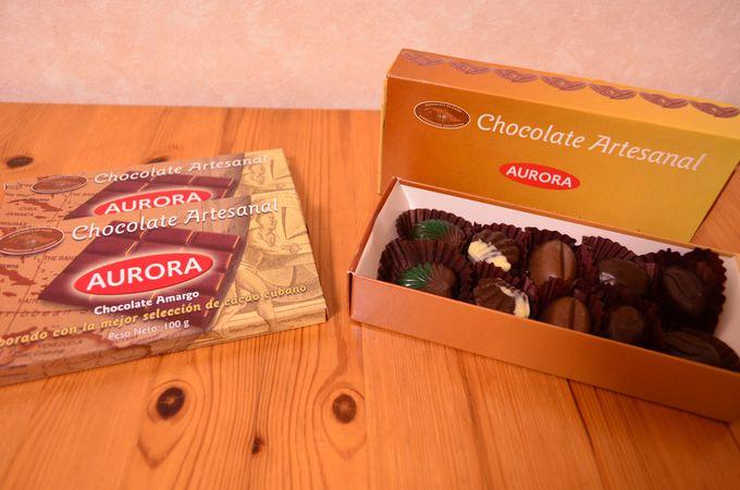 キューバ産カカオで作られたチョコレート