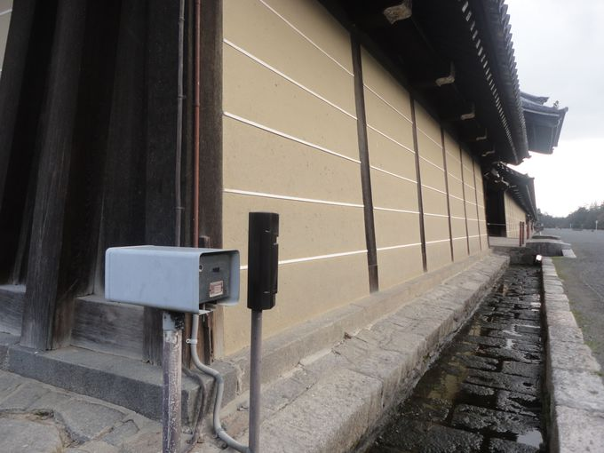京都御所の美しい外壁にはご注意を!