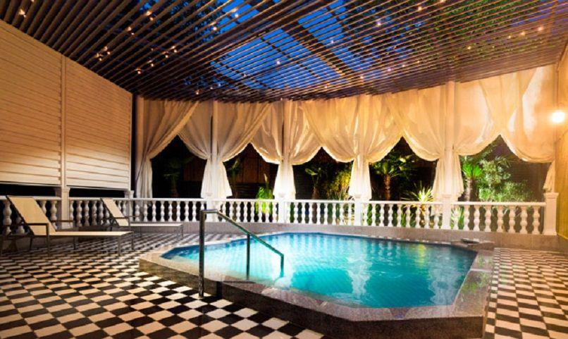 天然温泉風呂のある大浴場