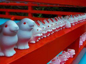 うさぎ神社で癒されよう!子宝&安産祈願の京都「岡崎神社」