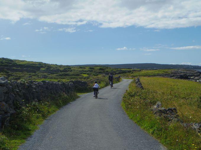 絶景への道のりはレンタルサイクリングかミニバスツアー、または馬車がおすすめ