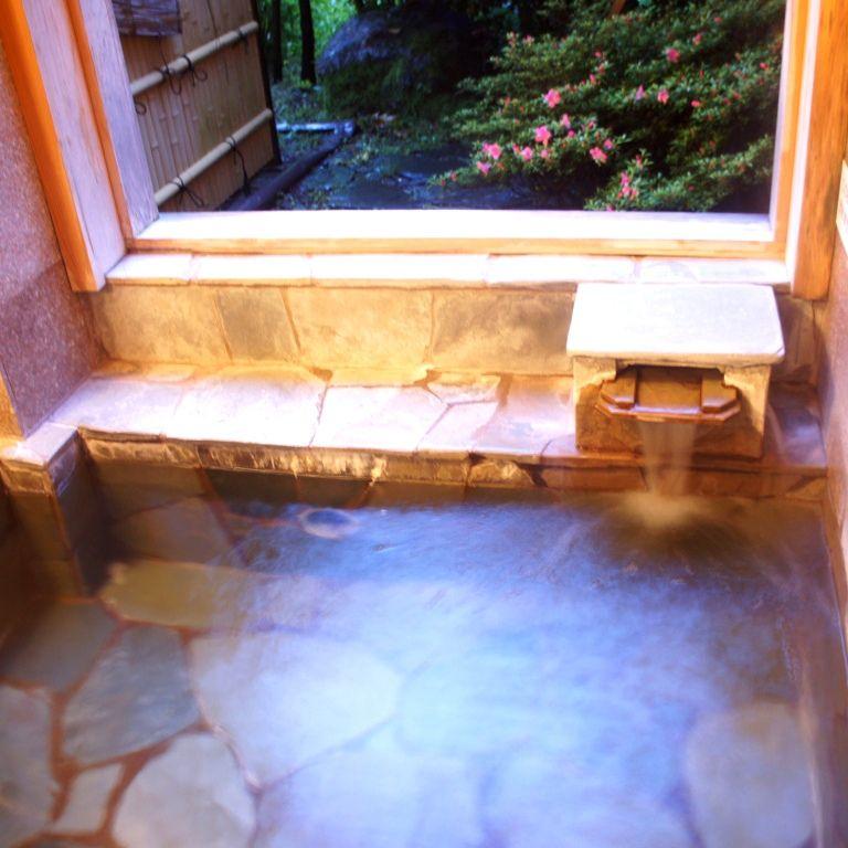 家族で一緒に入れる貸切風呂が嬉しい!