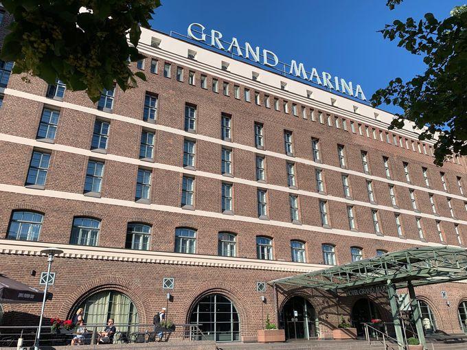 築100年以上、港のレンガ倉庫を改築したハイクラスホテル
