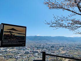 山梨・大蔵経寺山から「富嶽三十六景」の富士を眺めるハイキング