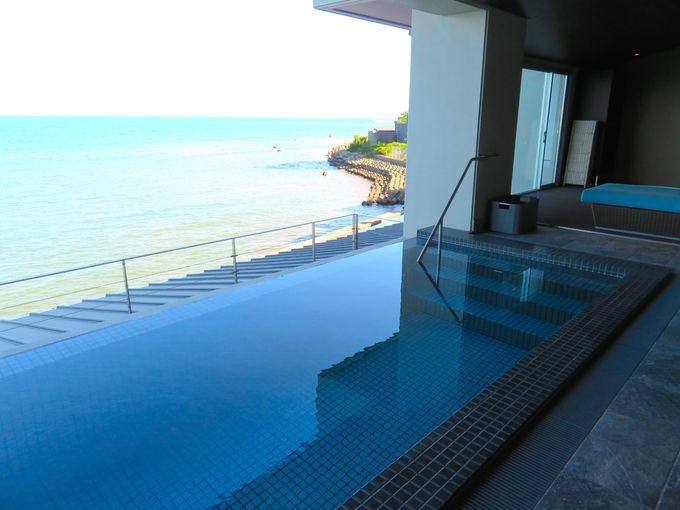 プール付きの超贅沢客室ジュニアスイートルーム誕生